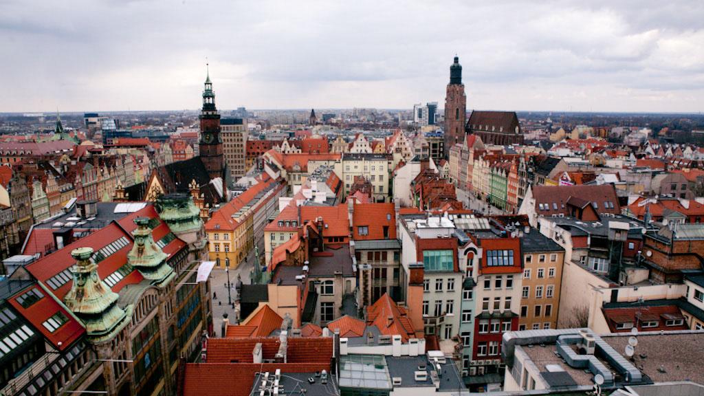 Wroclaw Poland Breslau