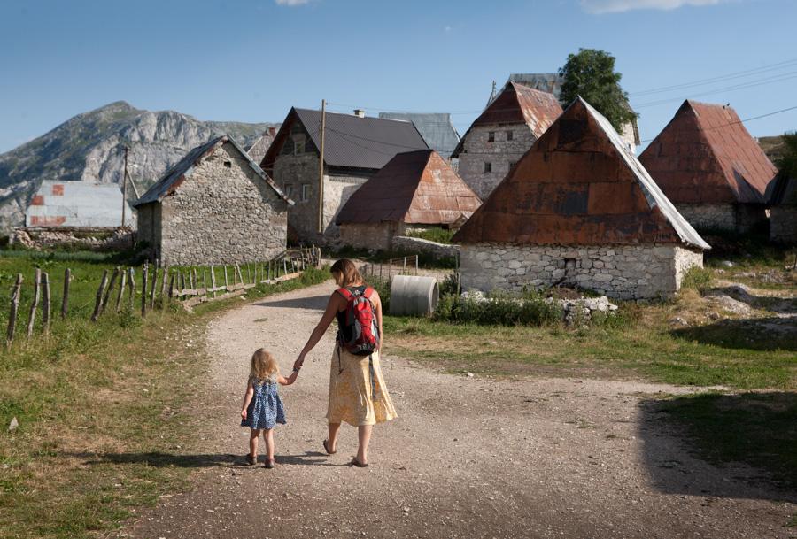 Above the present days: Lukomir (Bosnia)