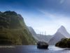 New Zealand, MIlford Sound (2014): Impressive view on the Fjord; Photo: Thomas Alboth