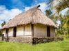 Fiji (2014): The Bure is the traditional house in Fiji (Vanua Levu, Savusavu)