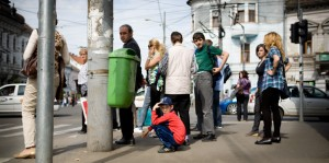 Cluj-Napoca (Romania) on the street