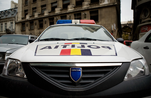 romanian police car (dacia)