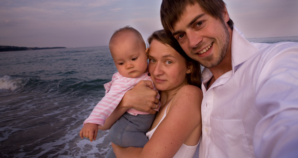 The Family Without Borders first time together on the Black Sea in Varna (Bulgaria)