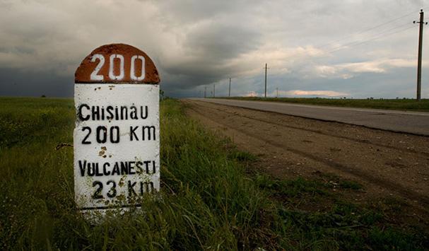 on the way to chisinau (moldova)