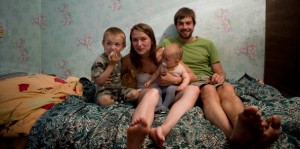 The Family Without Borders in Krasnoye in Transnistria (Moldova), Photo by Alex