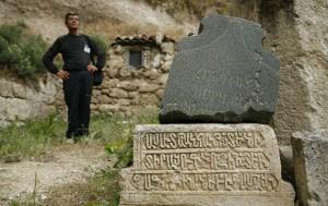 Valery, the archaeologist from Bakhchasaray (Ukraine; Crimea)