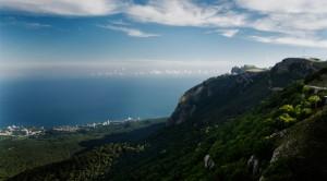 Crimean Seaside near Yalta (Black Sea; Ukraine)