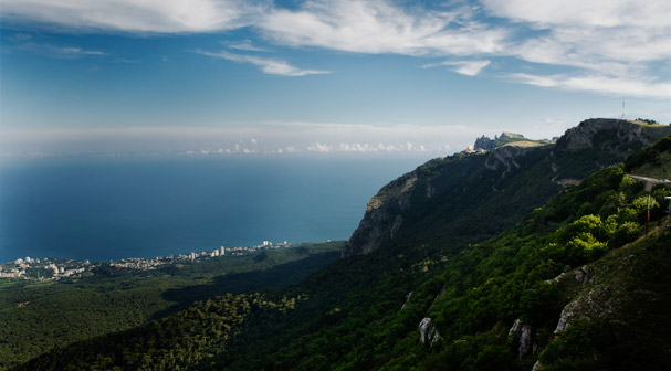 Crimean Seaside near Yalta (Black Sea; Ukraine)