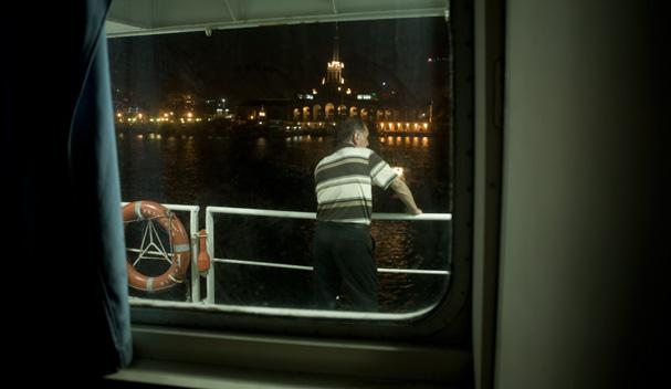 On the ferry Princess Victoria (Sochi - Trabzon) in Sochi port