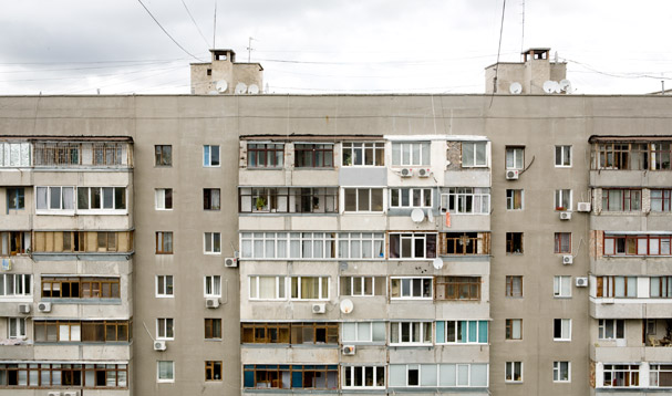 The Hostel in Simferopol (Ukraine; Crimea)