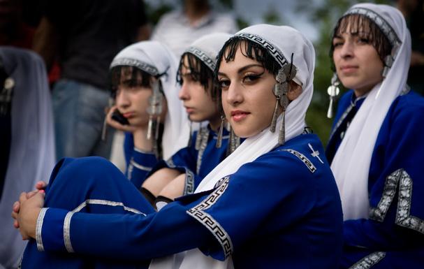 Tbilsi: folk festival