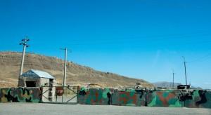 Armenia: Border to Nakhchivan (Azerbaijani: Naxçıvan Muxtar Respublikası)