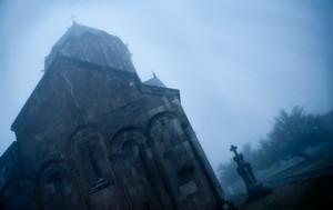 Gandzasar monastery in Nagorny-Karabakh