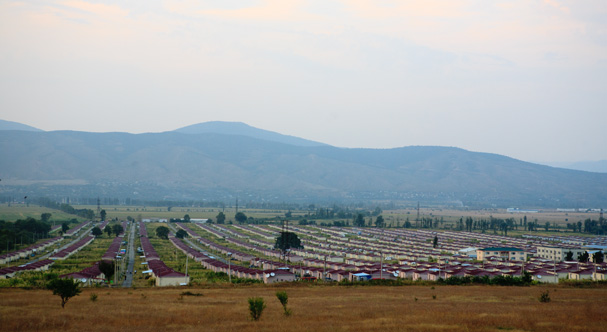 Georgia: Refugee camp for Ossetians IDPs near Tiblissi