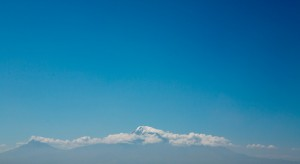 Yerevan (Armenia): View on the Ararat