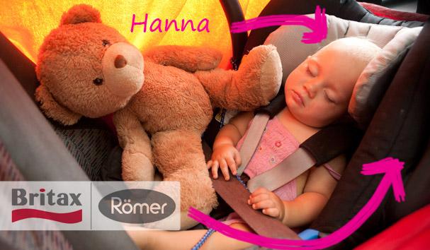 Römer-Britax: Kindersitze und Hannd
