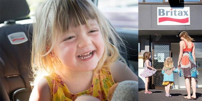 Britax-Roemer Kindersitz in Neuseeland