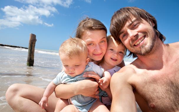 On the beach on Holbox Island (Yucatan, Mexico)