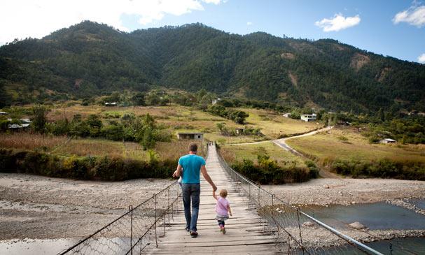 Guatemala: Near Ixtahuacan at the river; Photo: Anna Alboth