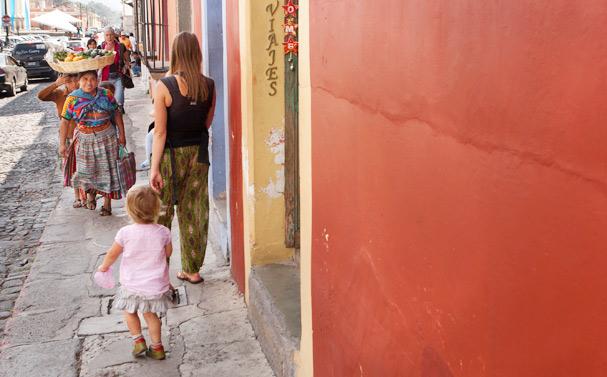 Antigua - the nicest city in Guatemala, Photo: Thomas Alboth