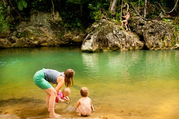 Belize:; Bartons creek