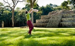 Honduras: Copan Ruinas, Hanna and Papa