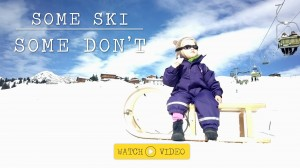 Video: Some ski, some don't