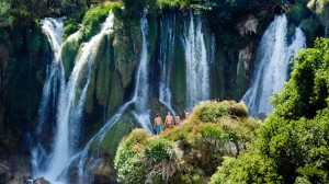(Bosnia): Kravica Waterfalls; Photo: Anna Alboth