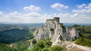 Bosnia: Srebrenik Fortress - an amazing view; Photo: Thomas Alboth