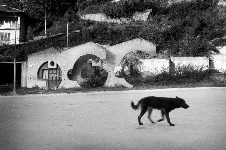 (Bosnia): Streets of Srebrenica; Photo: Thomas Alboth