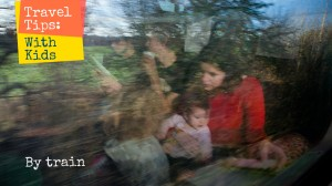 Berlin - Warsaw Train: Traveling with kids by train; Photo: Anna Alboth
