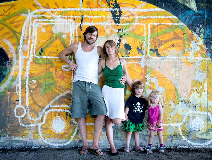 Familie ohne Grenzen - eine Reisefamilie, Elternzeitreise.