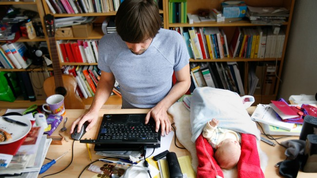 Berlin: Working, but not travelling with children; Photo: Anna Alboth