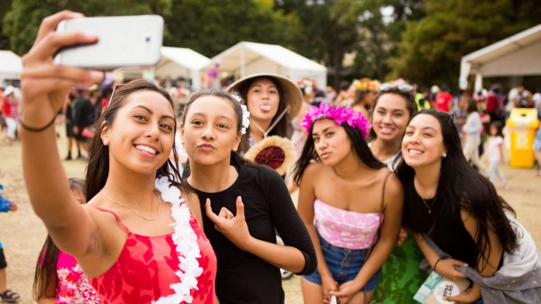 Auckland (New Zealand): Music from Tuvalu at the Pasifika Festival; Photo: Alboth