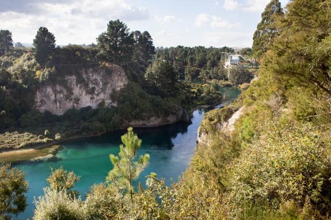 Taupo (New Zealand): Najpiękniejsze miejsce w Nowej Zelandii do skoku na bungee.