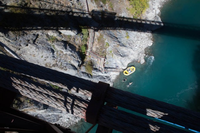 Queenstown (New Zealand): Skok na bungee w Nowej Zelandii
