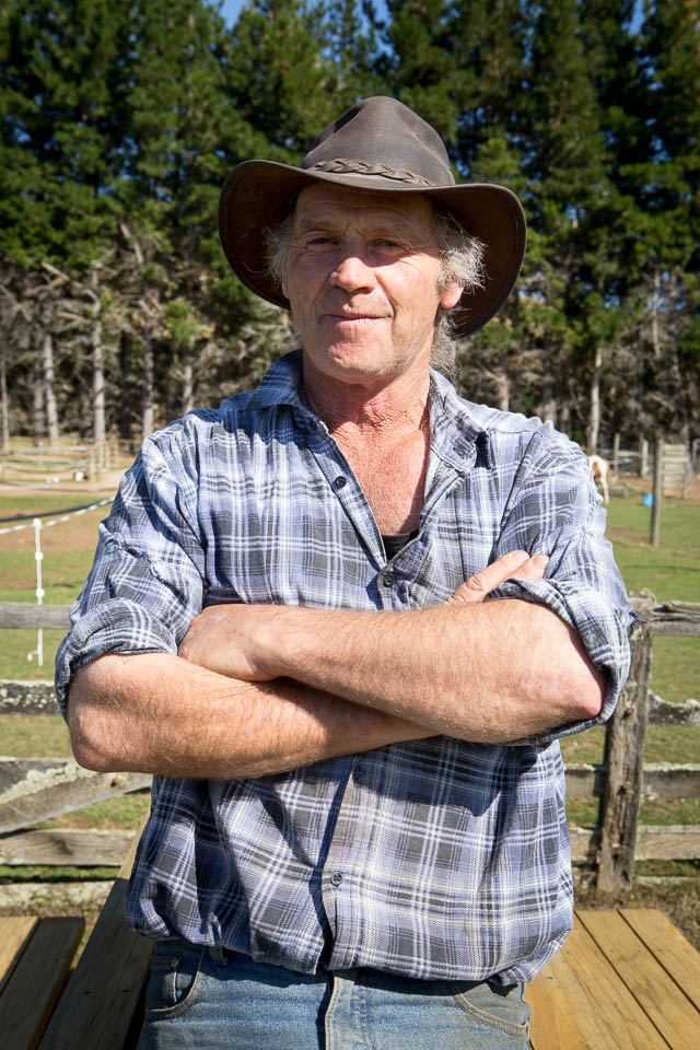 Te Anau (New Zealand): Andy - the owner of Westray Horse Tracks