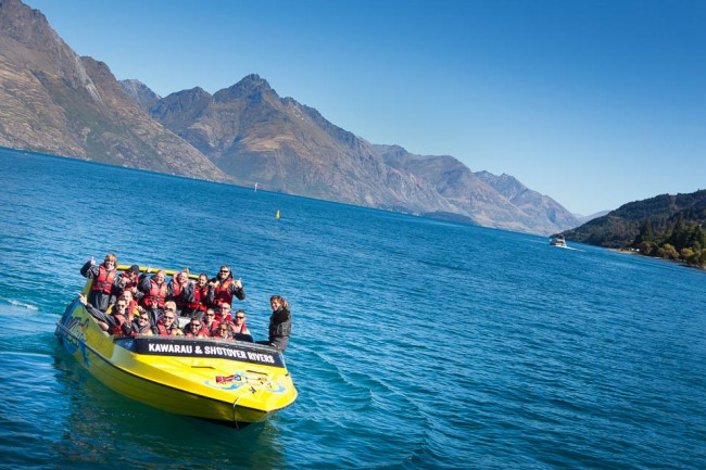 New Zealand: Jetboat in Queenstown