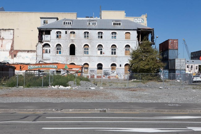 Christchurch (New Zealand) after earthquake
