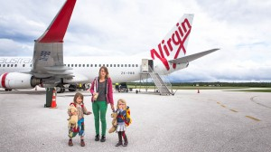 Tongatapu (Tonga): Airport, Virgin; Photo: Thomas Alboth