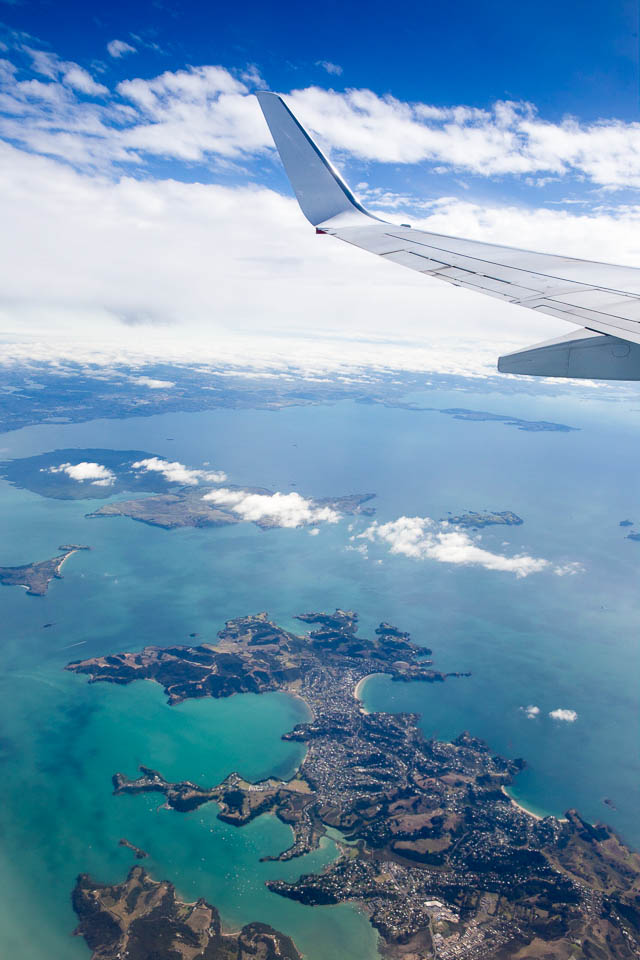 Tongatapu (Tonga): Flight – from the air; Photo: Thomas Alboth