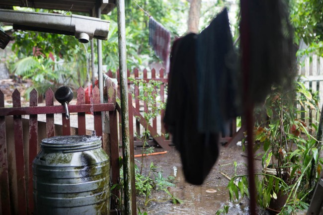 Rain, rain, rain nonstop for the first days