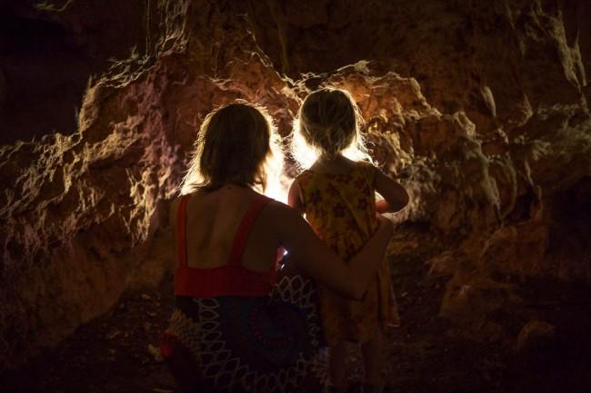 Eua (Tonga): In the rats cave; Photo: Thomas Alboth