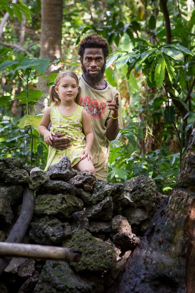 Atchin Vanuatu Malekula Son Of The Village Chief And