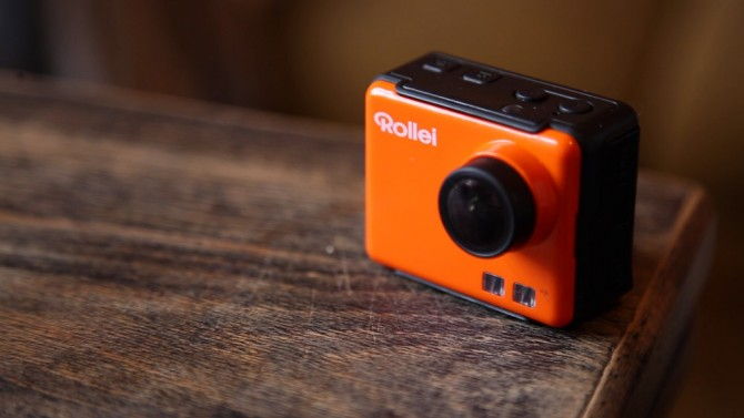 Rollei Action Cam S50 - On our family trip