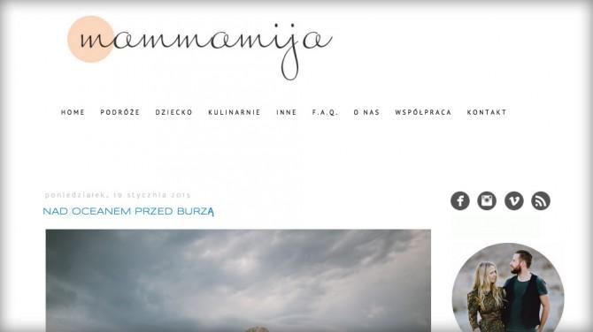 Mammamija – Ranking najlepszych blogów o podróżowaniu z dziećmi