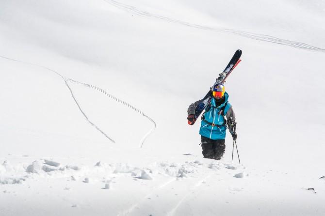 Skiing in Gudauri, Georgia, Travel, Holidays, freeriding, powder