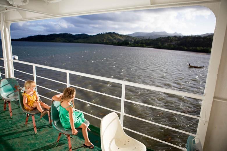 Fiji: ferry/bus to Levuka (Ovalau Island)