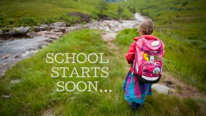 Shool start, travel, family