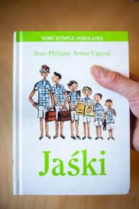 """""""Jaśki"""" Jean-Philippe Arrou-Vignod - Wyd. Znak Emoticon – 10 najlepszych książek dla dzieci, 2016, 2015"""